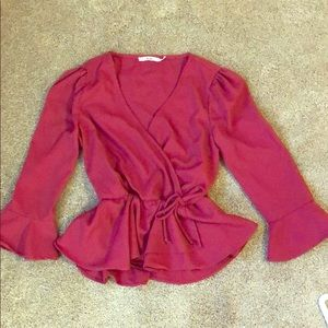 Francesca's Adorable Fit and Flare Shirt